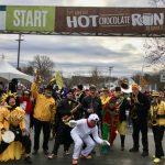 EBB at Hot Chocolate Run 2016